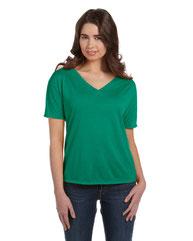 Bella + Canvas Ladies' Slouchy V-Neck T-Shirt 8815