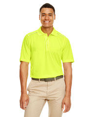 Core 365 Men's Radiant Performance Piqué Polo withReflective Piping 88181R