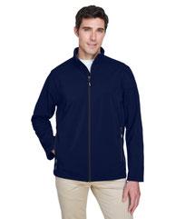 Core 365 Men's Cruise Two-Layer Fleece Bonded SoftShell Jacket 88184