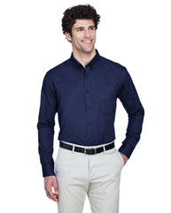 Core 365 Men's Operate Long-Sleeve TwillShirt 88193