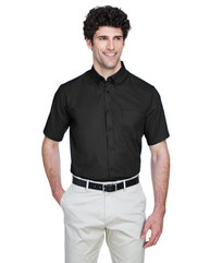 Core 365 Men's Optimum Short-Sleeve Twill Shirt 88194