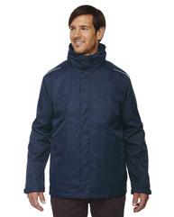 Core 365 Men's Tall Region 3-in-1 Jacket with FleeceLiner 88205T