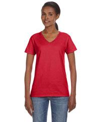 Anvil Ladies' Lightweight V-Neck T-Shirt 88VL