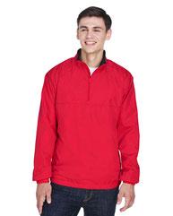 UltraClub Adult Micro-Poly Quarter-Zip Wind Shirt 8936