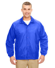 UltraClub Adult Nylon Coaches' Jacket 8944