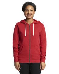 Next Level Unisex Full-Zip Hooded Sweatshirt 9602