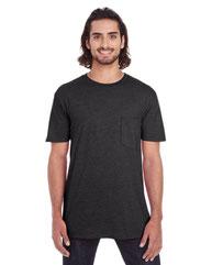 Anvil Adult Lightweight Pocket T-Shirt 983