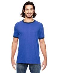 Anvil Adult Lightweight Ringer T-Shirt