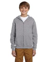 Jerzees Youth 8 oz. NuBlend® Fleece Full-Zip Hood 993B