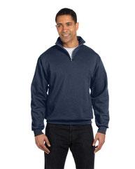Jerzees Adult 8 oz. NuBlend® Quarter-Zip Cadet Collar Sweatshirt 995M