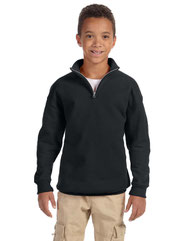 Jerzees Youth 8 oz. NuBlend® Quarter-Zip Cadet Collar Sweatshirt 995Y