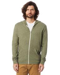 Alternative Unisex Eco-Jersey™ Zip Hoodie