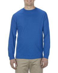 Alstyle Adult 5.1 oz., 100% Soft Spun Cotton Long-Sleeve T-Shirt AL1904