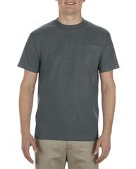 Alstyle Adult 5.1 oz., 100% Soft Spun Cotton Pocket T-Shirt AL1905