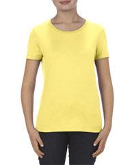 Alstyle Missy 4.3 oz., Ringspun Cotton T-Shirt AL2562