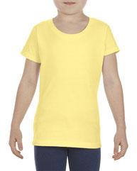 Alstyle Girls' 4.3 oz., Ringspun Cotton T-Shirt AL3362