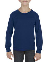 Alstyle Youth 6.0 oz., 100% Cotton Long-Sleeve T-Shirt AL3384