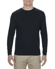 Alstyle Adult 4.3 oz., Ringspun Cotton Long-Sleeve T-Shirt AL5304