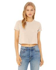 Bella + Canvas Ladies' Flowy Cropped T-Shirt B8882