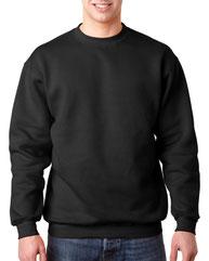 Bayside Adult 9.5 oz., 80/20 Heavyweight Crewneck Sweatshirt BA1102