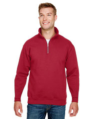 Bayside Unisex 9.5 oz., 80/20 Quarter-Zip Pullover Sweatshirt BA920