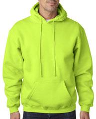 Bayside Adult 9.5 oz., 80/20 Pullover Hooded Sweatshirt