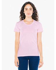 American Apparel Ladies' Poly-Cotton Short-Sleeve Crewneck BB301W
