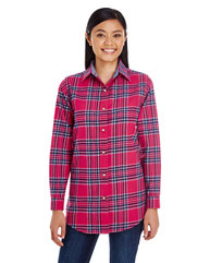 Backpacker Ladies' Yarn-Dyed Flannel Shirt