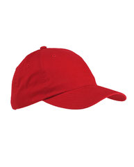 Big Accessories Youth 6-Panel Brushed Twill Unstructured Cap BX001Y