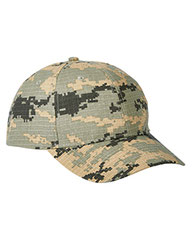 Big Accessories Structured Camo Hat BX024