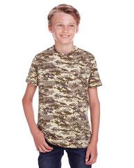 Code Five Youth Camo T-Shirt C52207