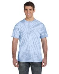 Tie-Dye Adult 5.4 oz. 100% Cotton Spider T-Shirt