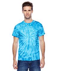 Tie-Dye Adult 5.4 oz., 100% Cotton Twist Tie-Dyed T-Shirt