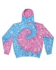 Tie-Dye Adult Tie-Dyed Full-Zip Hooded Sweatshirt