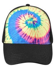 Tie-Dye Adult Trucker Hat CD9200