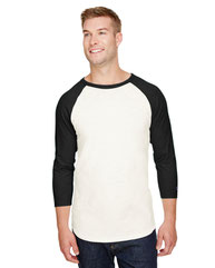 Champion Adult Ringspun Slub Baseball T-Shirt CP75