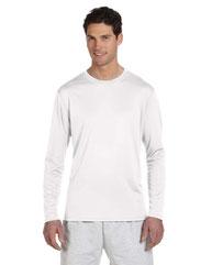 Champion Adult 4.1 oz. Double Dry® Long-Sleeve Interlock T-Shirt