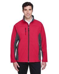 Devon & Jones Men's Soft Shell Colorblock Jacket D997