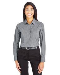 Devon & Jones CrownLux Performance™ Ladies' Tonal Mini Check Shirt DG535W