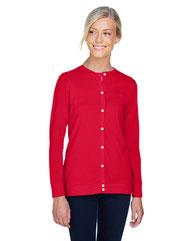 Devon & Jones Ladies' Perfect Fit™ Ribbon Cardigan DP181W