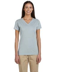 econscious Ladies' 4.4 oz., 100% Organic Cotton Short-Sleeve V-Neck T-Shirt EC3052