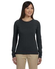 econscious Ladies' 4.4 oz., 100% Organic Cotton Classic Long-Sleeve T-Shirt EC3500