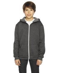 American Apparel Youth Flex Fleece Zip Hoodie F297W