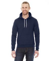 American Apparel Unisex Flex Fleece DropShoulder Pullover Hoodie F498W