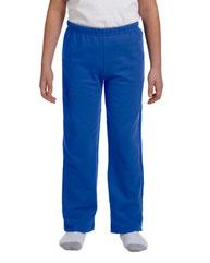 Gildan Youth Heavy Blend™ 8 oz., 50/50 Open-Bottom Sweatpants G184B