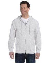 Gildan Adult Heavy Blend™ 8 oz., 50/50 Full-Zip Hood