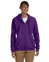 Gildan Ladies' Heavy Blend™ Ladies' 8 oz., 50/50 Full-Zip Hood G186FL