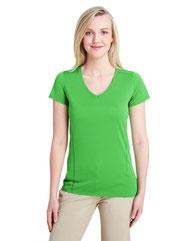 Gildan Ladies' Performance® Ladies' 4.7 oz. V-Neck Tech T-Shirt G47V
