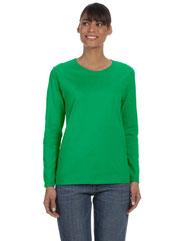 Gildan Ladies'   Heavy Cotton™ 5.3 oz. Long-Sleeve T-Shirt G540L