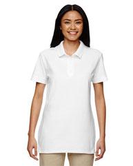 Gildan Ladies'  Premium Cotton® Ladies' 6.6oz. Double Piqué Polo G828L